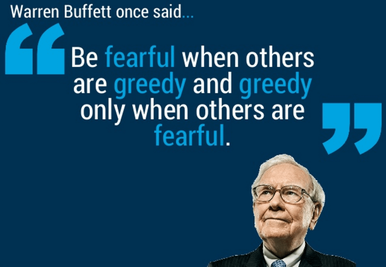 A lesson from Warren Buffett on buying fear Part 3